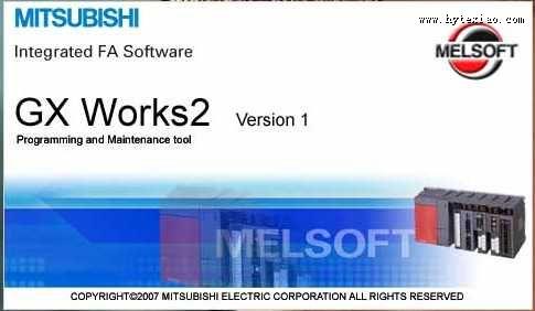 gx works2 plc综合编程软件